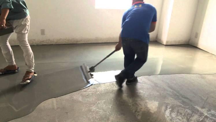 Các định mức khi sử dụng vữa láng nền để có nền láng mịn